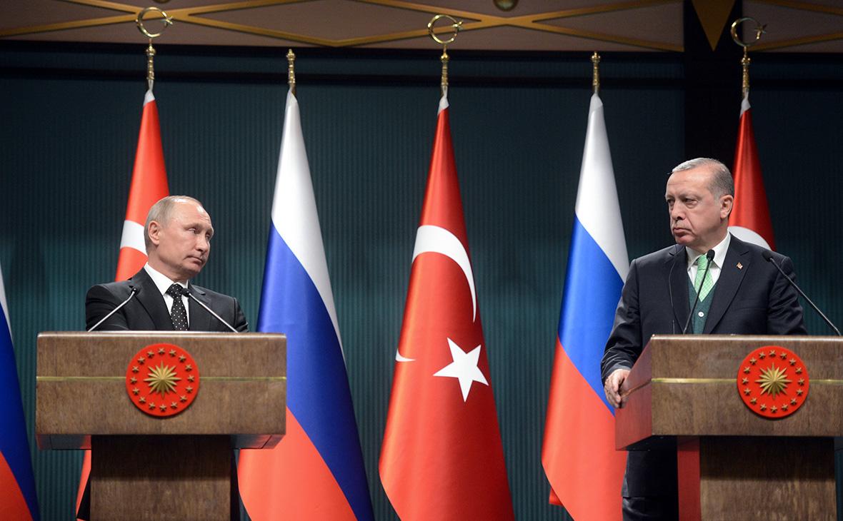 СМИ узнали о рассказе Эрдогана Путину о грозящих сирийцам последствиях