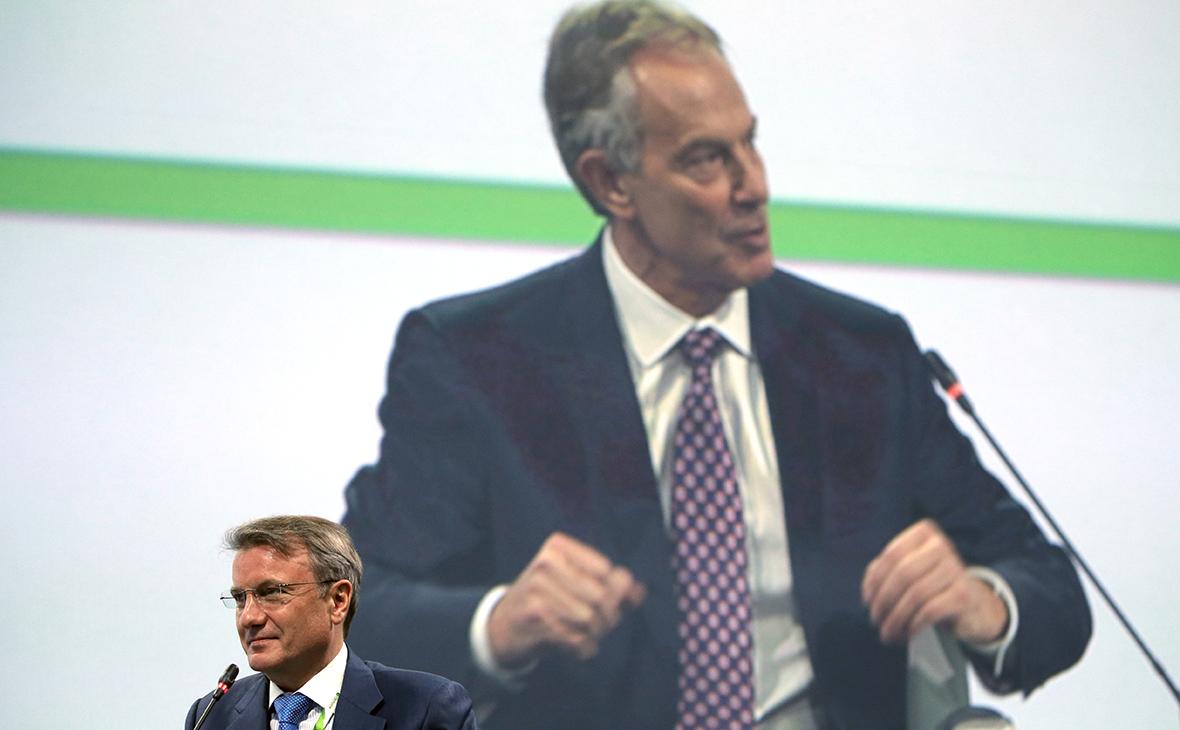Тони Блэр назвал Грефу причины неизбежного введения цифрового ID