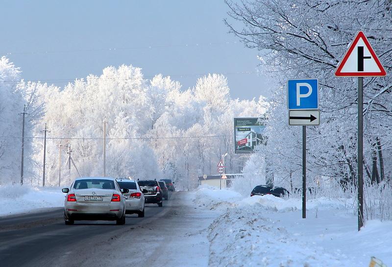 На трех трассах под Петербургом вводится реверсивное движение