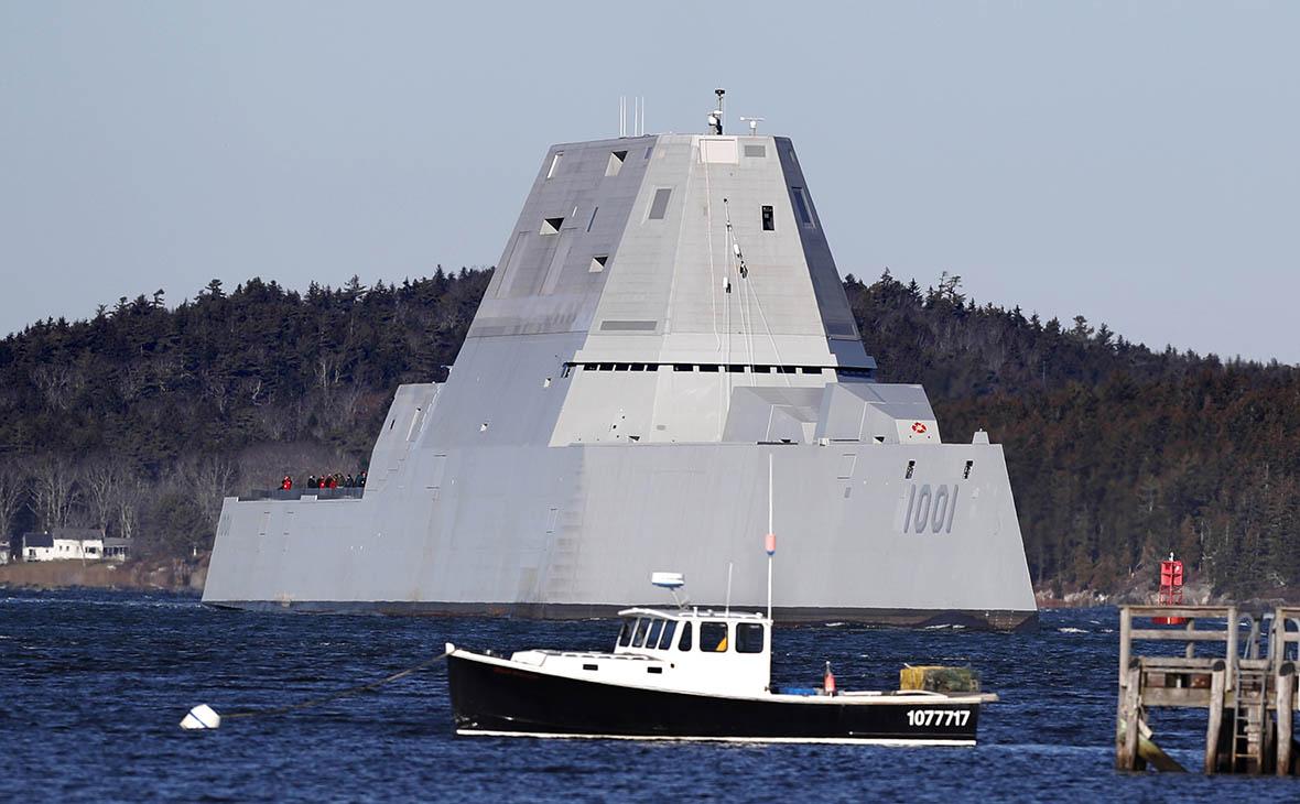 Второй новейший эсминец ВМС США сломался во время испытаний