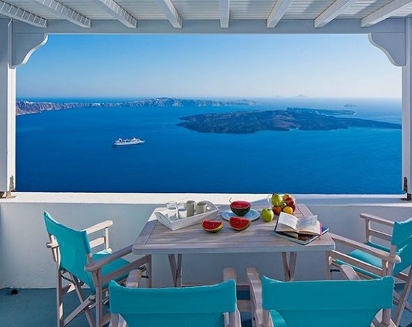 Дешевые апартаменты в остров Санторини