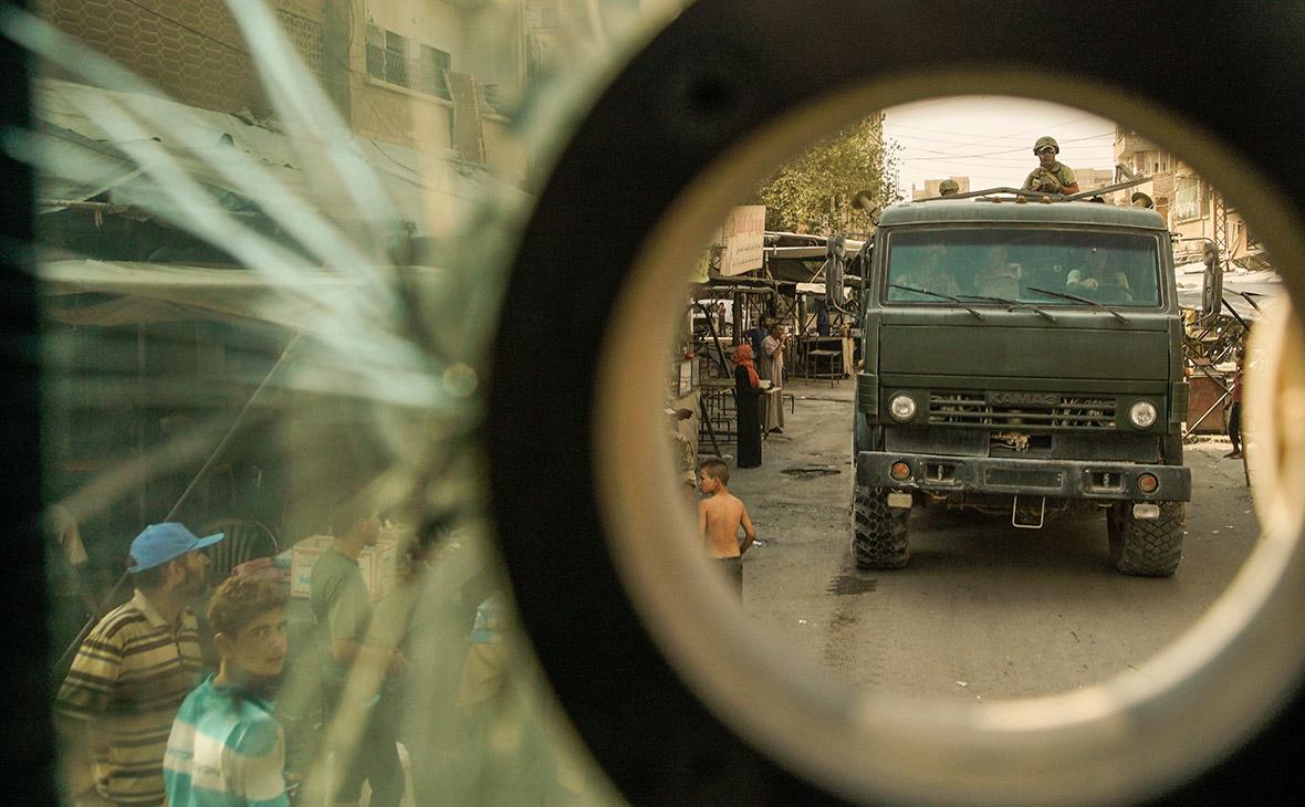 Боевики в Сирии попытались захватить взвод военной полиции России