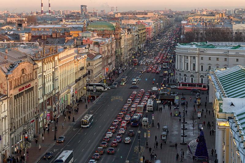 В Петербурге объявили точный график ремонта Невского проспекта