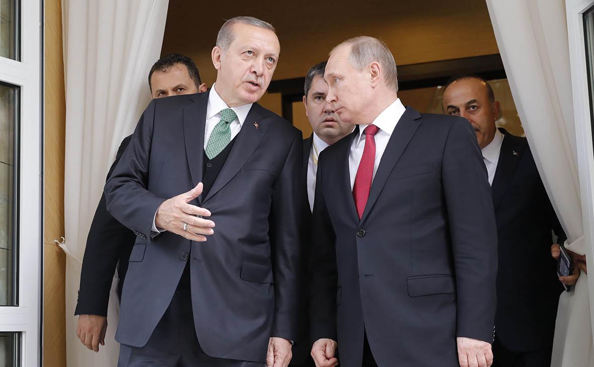 Путин после встречи с Эрдоганом раскритиковал решение США по Иерусалиму