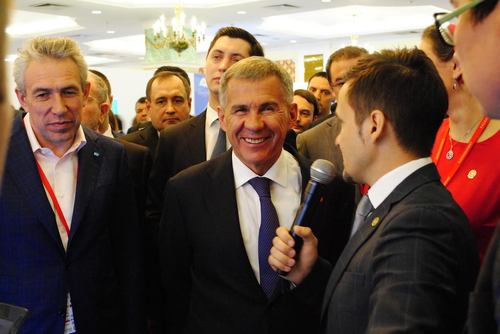 Минниханов отвоевал две позиции в рейтинге глав регионов
