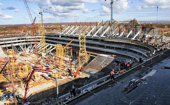 Проект стадиона вСамаре упростят впопытке успеть кЧМ пофутболу