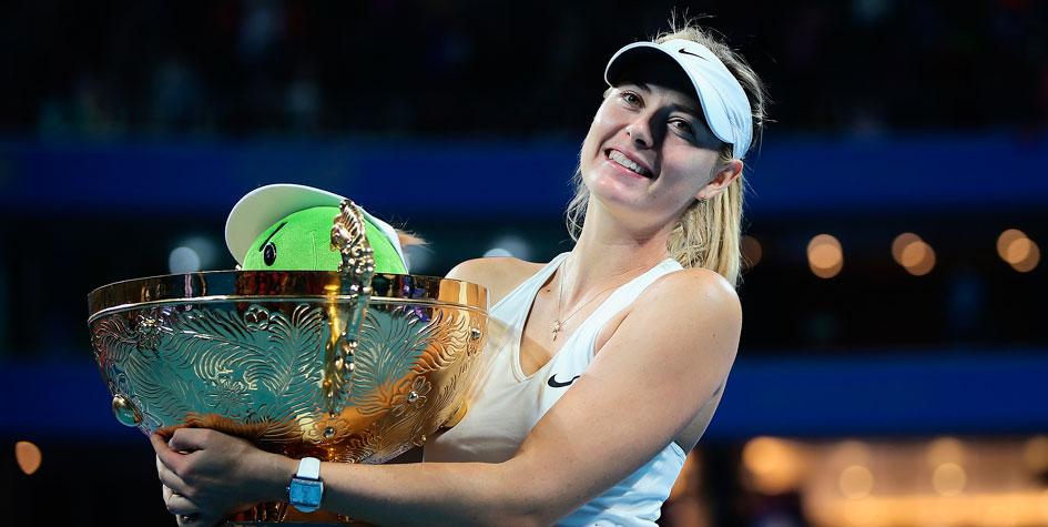 Марию Шарапову пригласили на Открытый чемпионат Китая