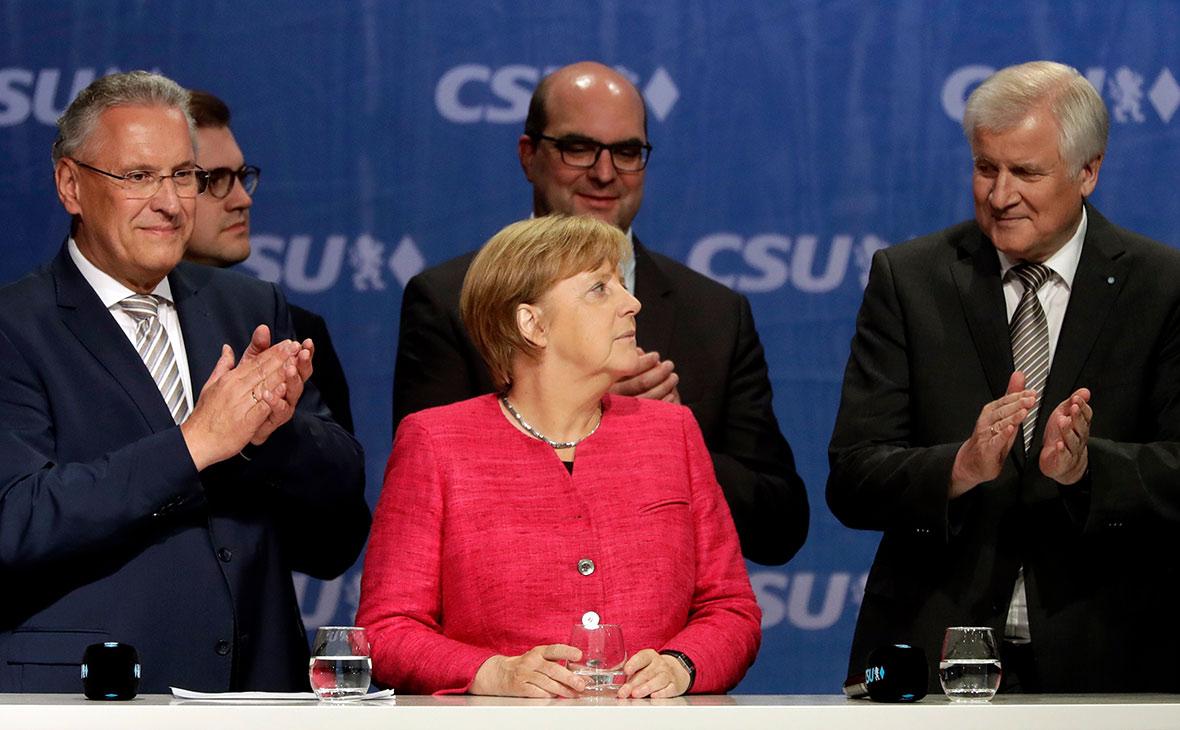Финальные опросы показали лидерство партийного блока Меркель