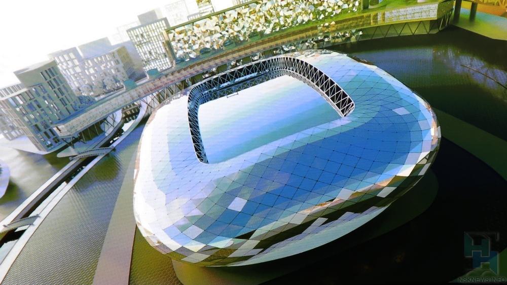 Мэр Новосибирска предложил новое место для ледовой арены