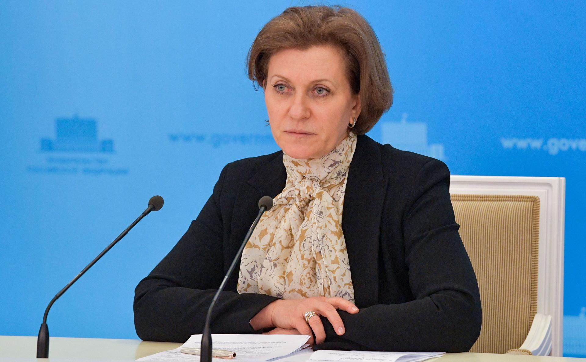 Попова назвала долю бессимптомных носителей коронавируса в России