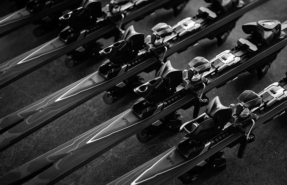 Чехол для горных лыж Формула зима Norma 160 Black 51001
