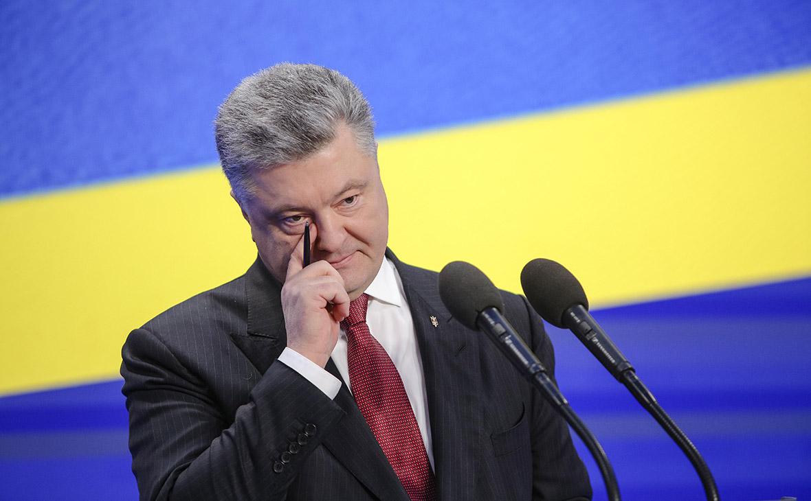 Порошенко заявил об утере банками $5 млрд из-за «оккупации» Украины