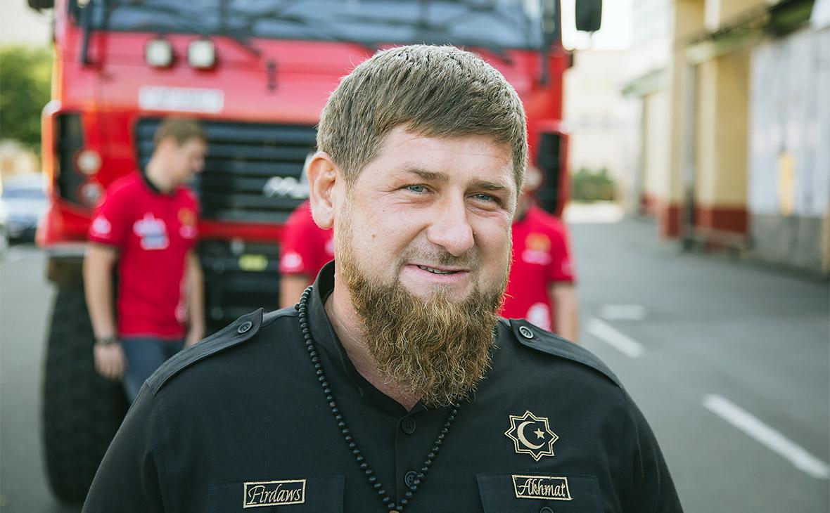 Кадыров в Белоруссии испытал спортивный грузовик МАЗ