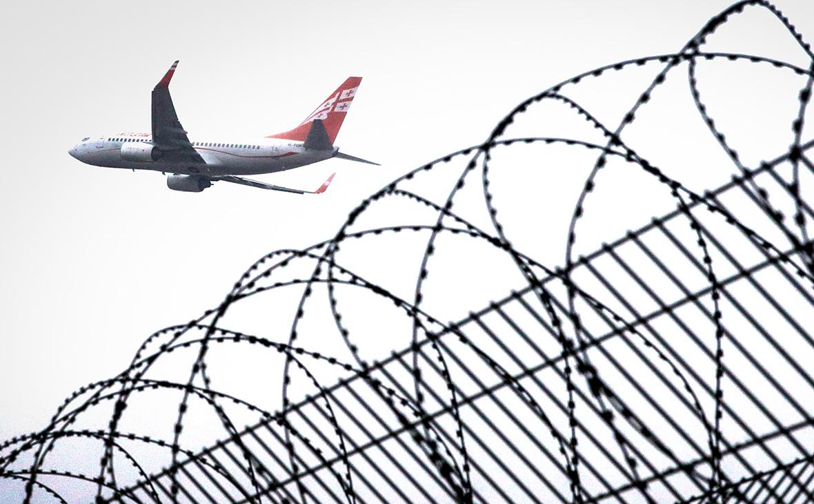 Минтранс снял ограничения на полеты Georgian Airways в Москву