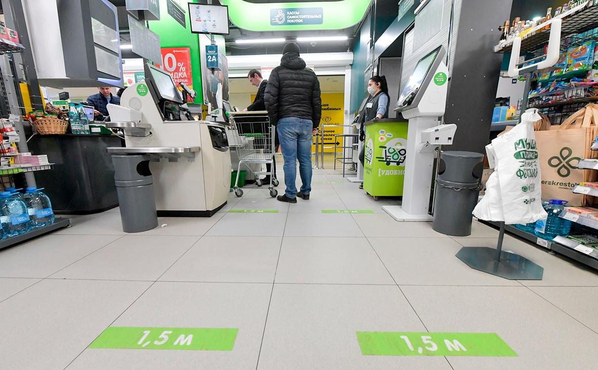 Жители России после нерабочих дней увеличили число покупок почти на 20%