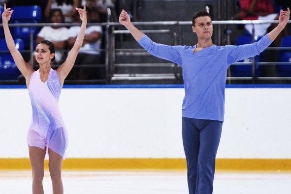 Фигуристы Энберт и Забияко представят Кубань на Олимпиаде в Пхенчхане