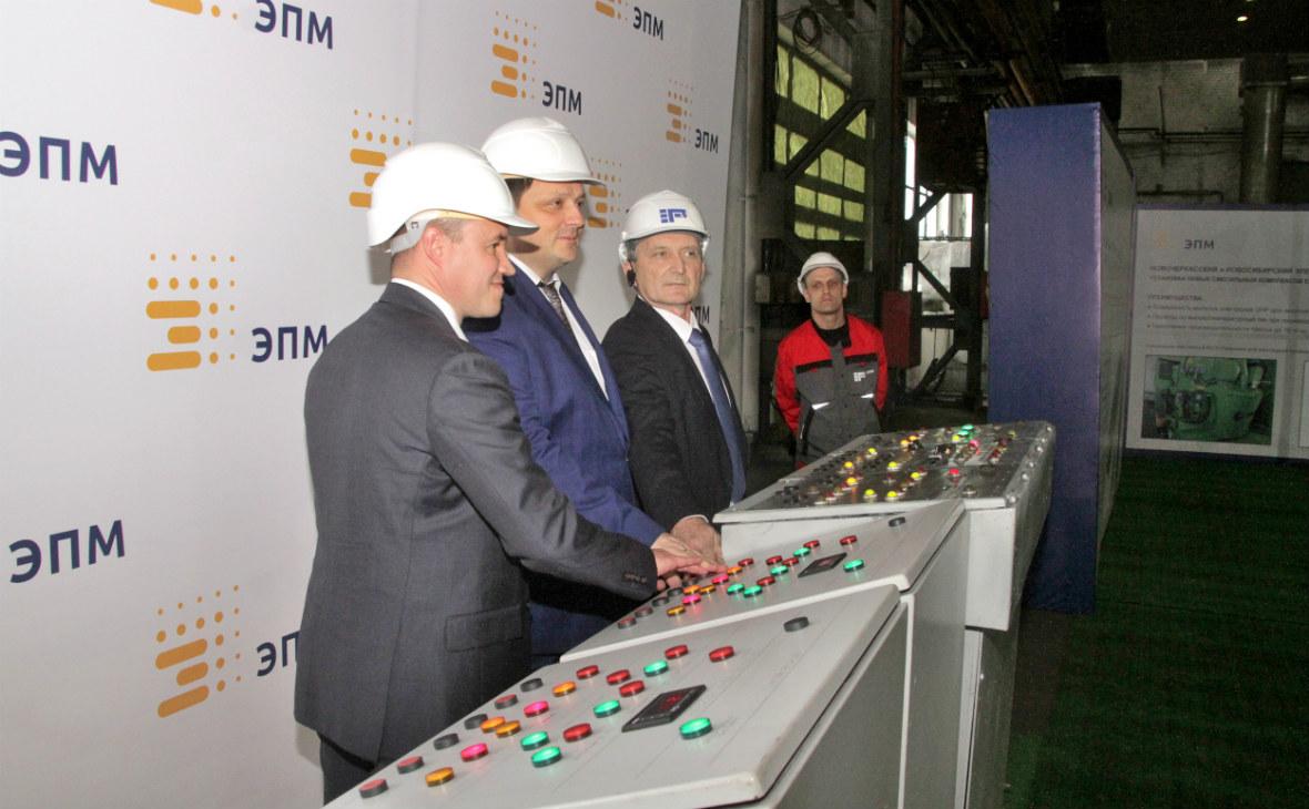 «ЭНЕРГОПРОМ» расширяет производство электродов в Новочеркасске