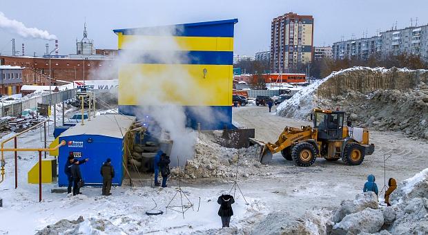 Вторая снегоплавильная станция в Новосибирске вышла на полную мощность