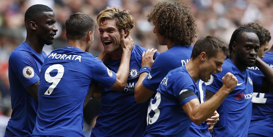 «Челси» на последних минутах вырвал победу в лондонском дерби