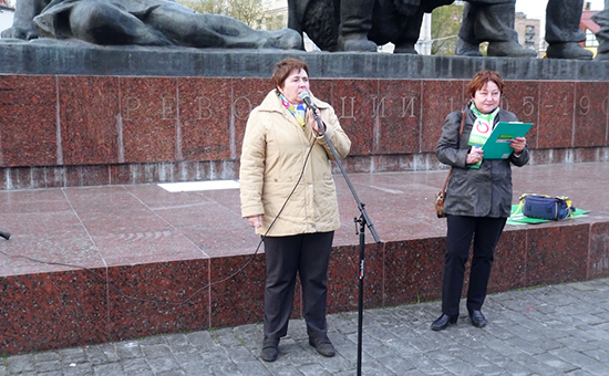 У активистки «Яблока» пропало зрение посленападения вМоскве