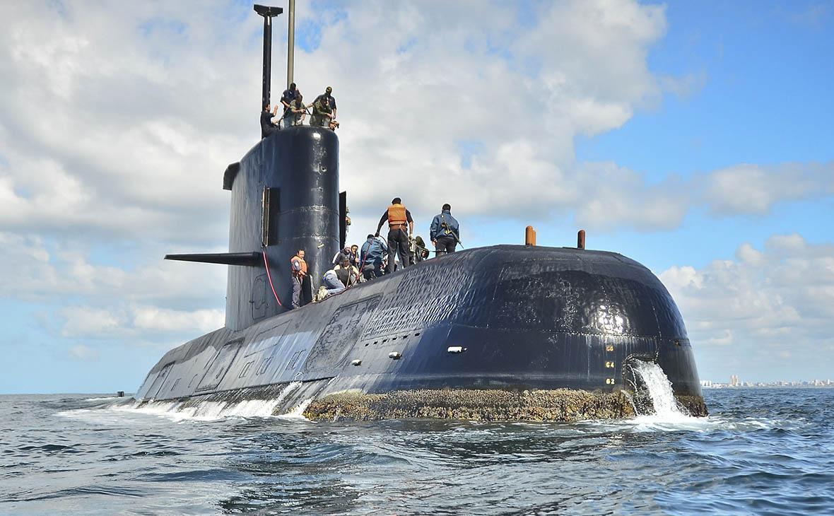 Власти Аргентины зафиксировали попытки пропавшей подлодки выйти на связь