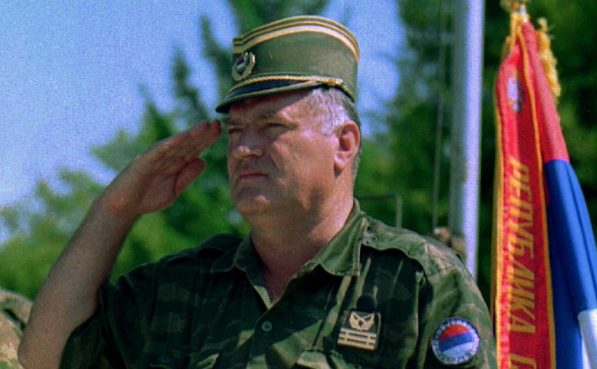 Генерала Ратко Младича приговорили к пожизненному заключению