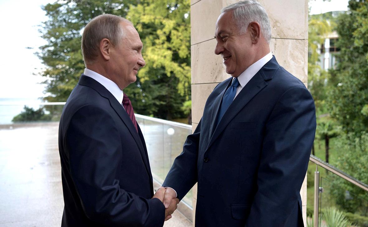 Нетаньяху пообещал Путину всеми способами защитить Израиль от Ирана