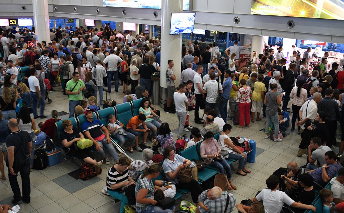 Затримка рейсів у Внуково сегодня