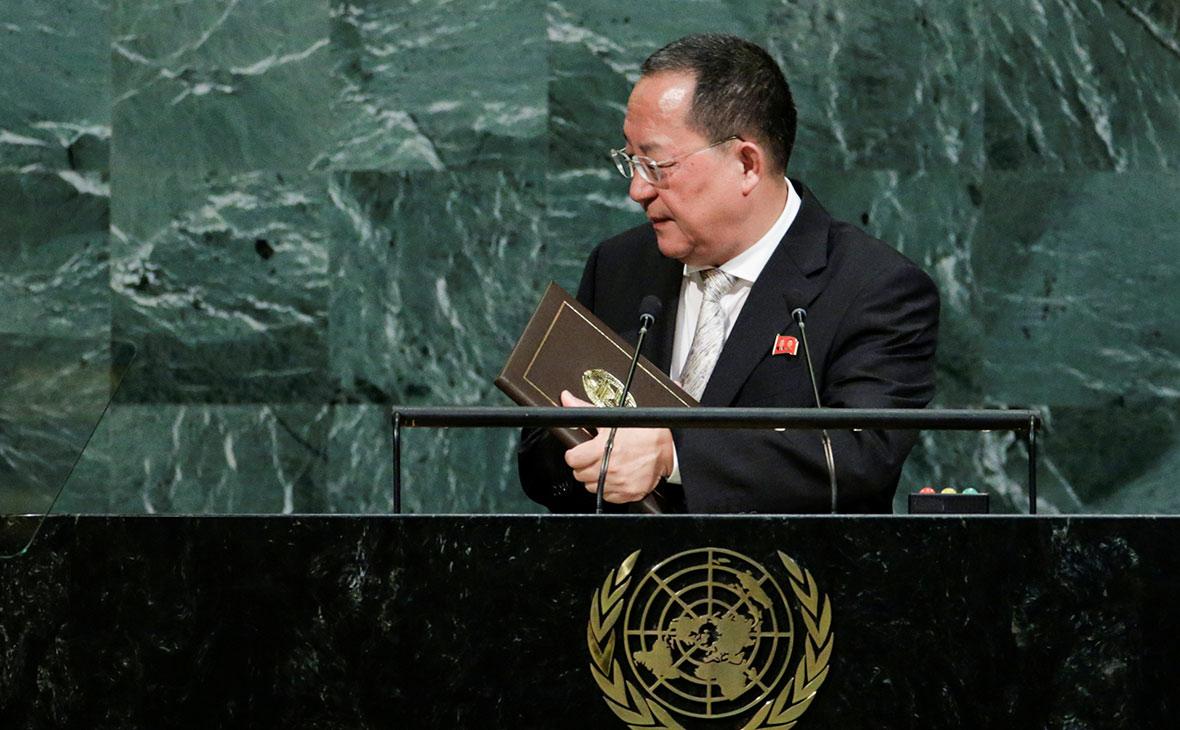 Глава МИД КНДР на выступлении в ООН назвал удар по США «неизбежным»