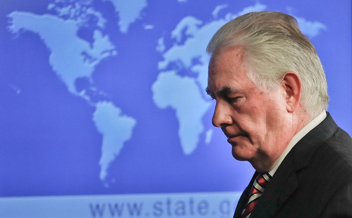 Тиллерсон обвинил Россию в поставке оружия талибам