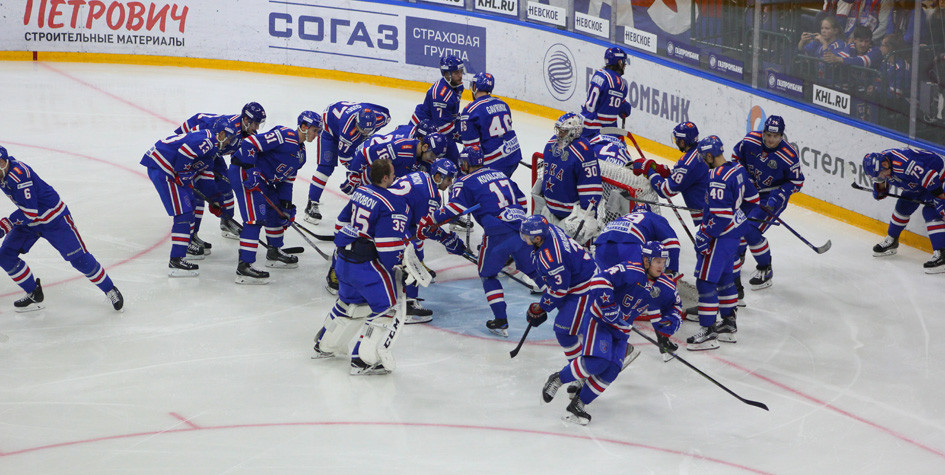 Хоккеисты СКА установили новый рекорд в КХЛ
