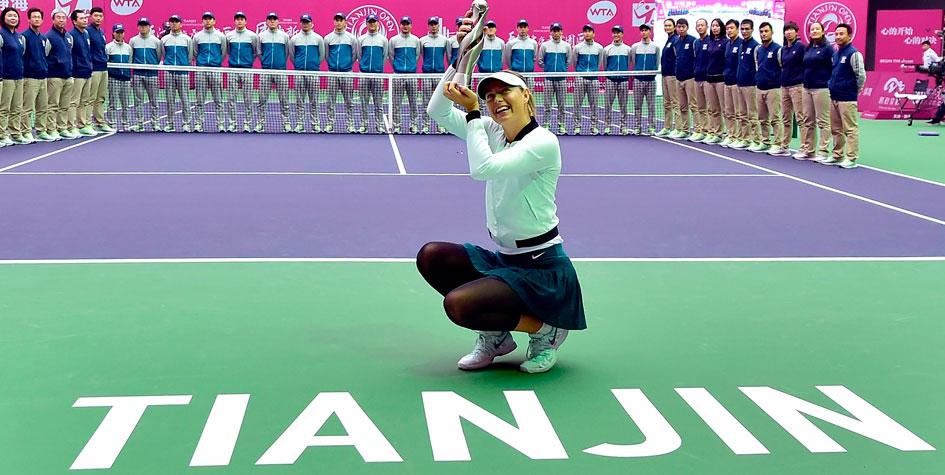 Мария Шарапова поднялась на 29 позиций в рейтинге WTA