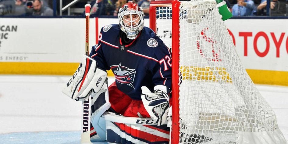 Российский вратарь установил клубный рекорд в НХЛ