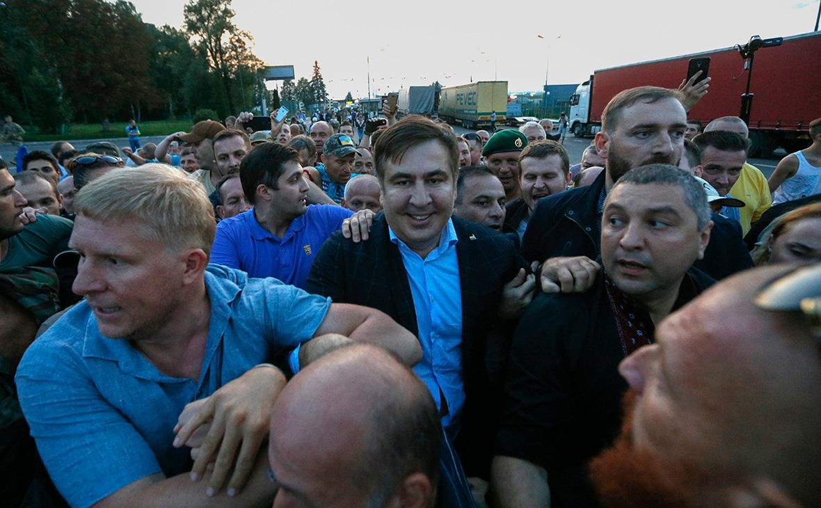 Михаил Саакашвили совсем скоро  будет жить вЧеркасской области
