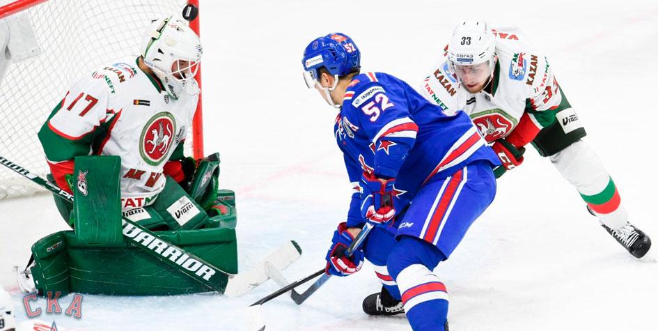 СКА проиграл во второй раз в чемпионате КХЛ
