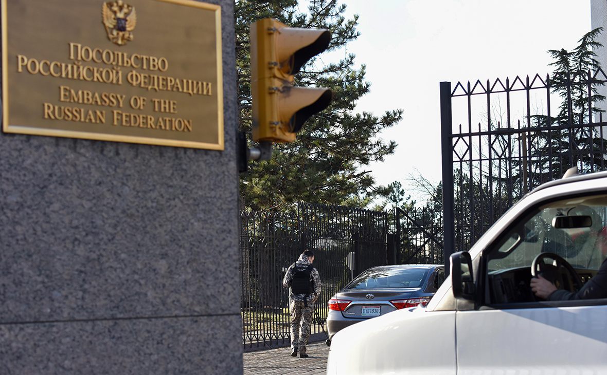 Сокращение американских дипломатов разведчиков в россии