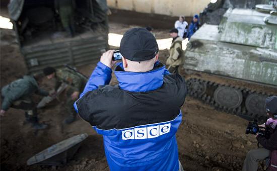 Наблюдатели ОБСЕ обнаружили наУкраине систему залпового огня «Буратино»