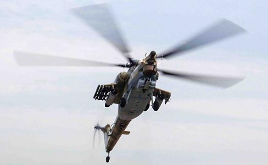 В Сирии потерпел крушение российский вертолет