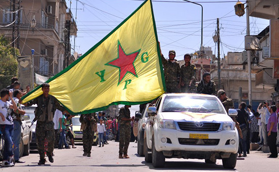 МИД Турции вызвал послов России иСША из-запомощи сирийским курдам