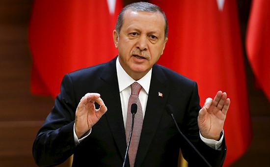 Эрдоган назвал «недостойной дляполитиков» реакцию Москвы наСу-24
