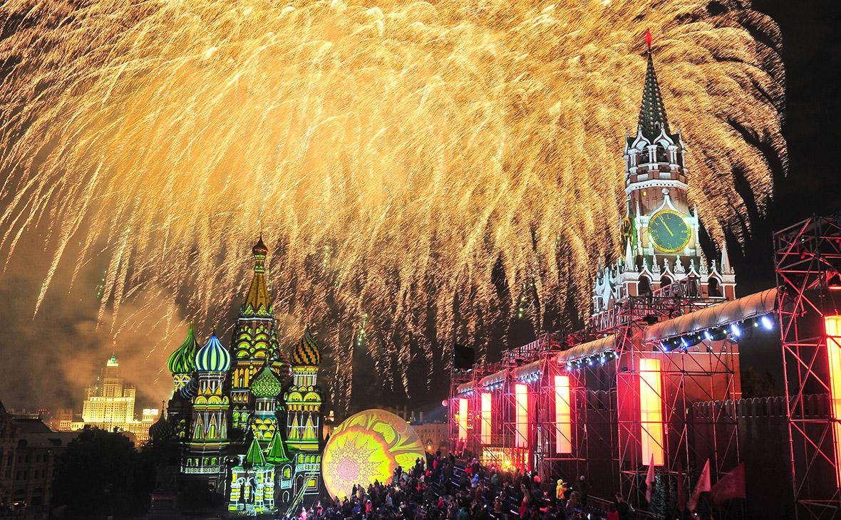 Юбилейный День города подорожал в Москве на 160 млн руб.