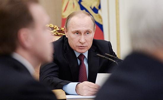 Путин поручил подготовить список претендентов на приватизацию