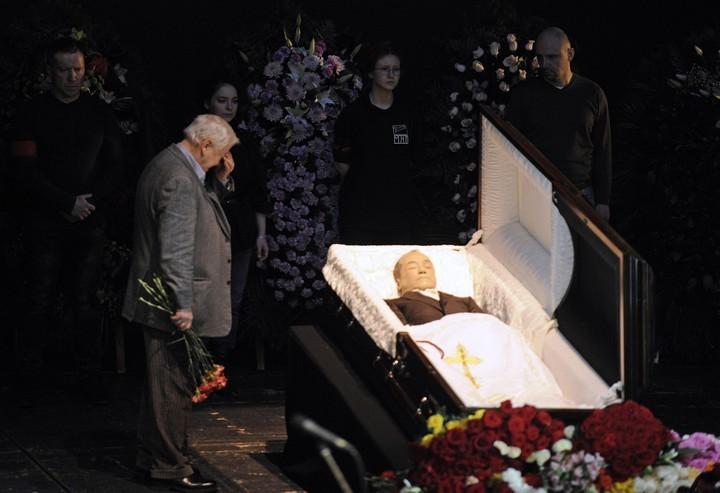 Церемония прощания с актером Андреем Паниным :: Общество :: РБК