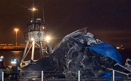 Falcon 9 разрушилась при посадке на плавучую платформу