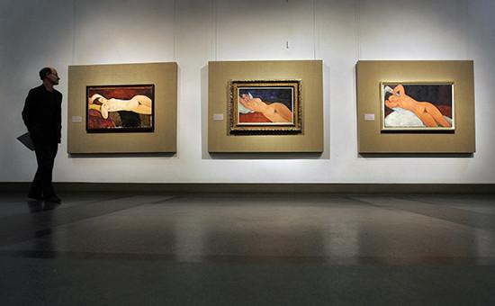 «Лежащую обнаженную» Модильяни продали за$170,4 млн за девять минут