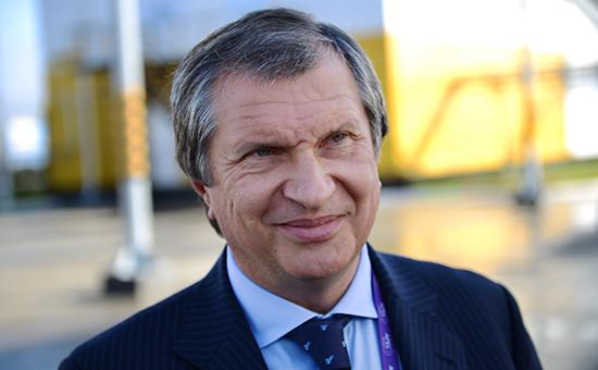 Доход Сечина и других членов правления «Роснефти» вырос на 1 млрд руб.