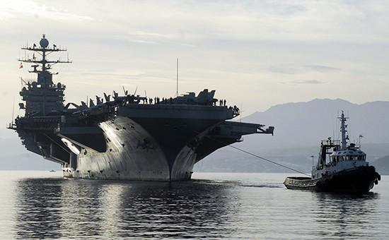 В США назвали переброску авианосца в Средиземное море «сигналом» Москве