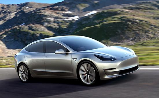 Tesla представила бюджетный электромобиль Model 3