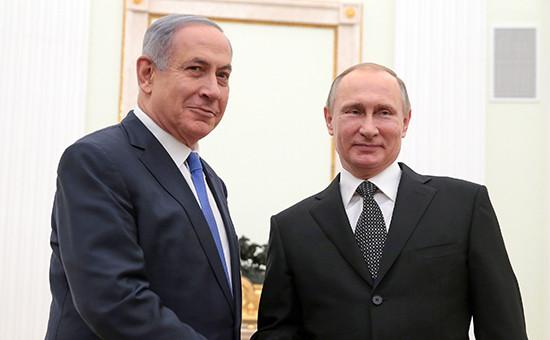 СМИ узнали о двухобстрелах самолетов Израиля российскими ВКС в Сирии