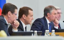 <p>Дмитрий Медведев напленарном заседании Госдумы</p>
